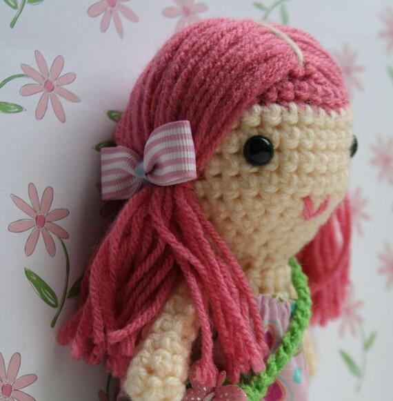 Pretty Pink  pony tails