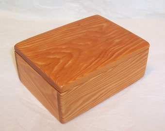 Handcrafted Reclaimed Fir Wood Box