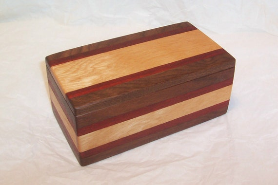 Handcrafted Reclaimed and Vintage Woods Box - Sweet Mixture