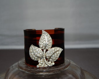 Tortoiseshell Deluxe Cuff Bracelet