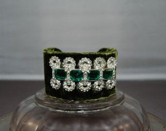 Emerald City Cuff Bracelet