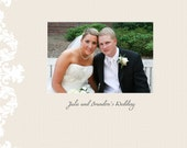 Classic wedding album template for photographers