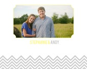 Interactive wedding guest book template for photographers