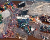 Lot of Assorted Beads & Misc. ( FREE U.S. Shipping)