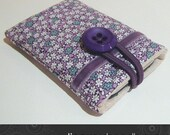 Jo iPhone iPod cell phone case in purple floral