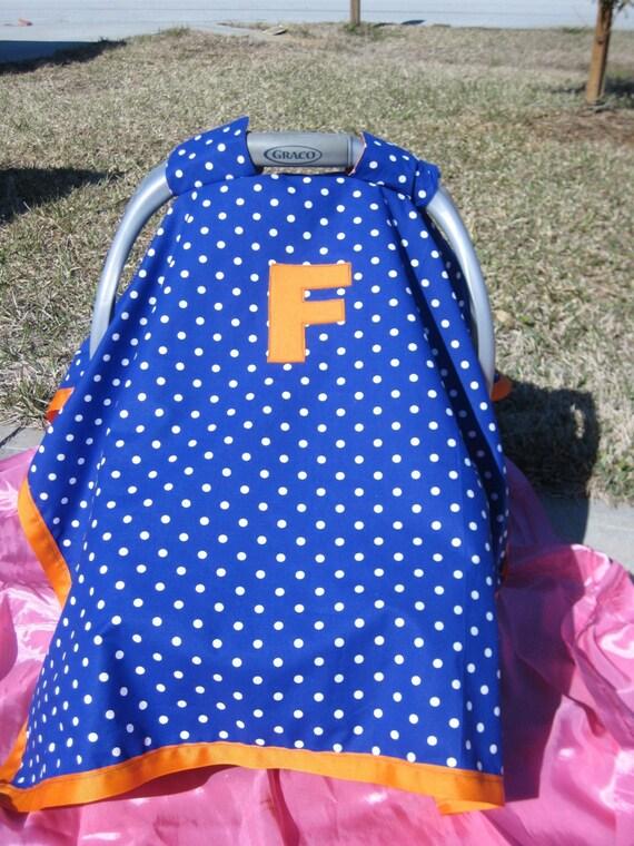 Car Seat Covers Florida Gator Inspired
