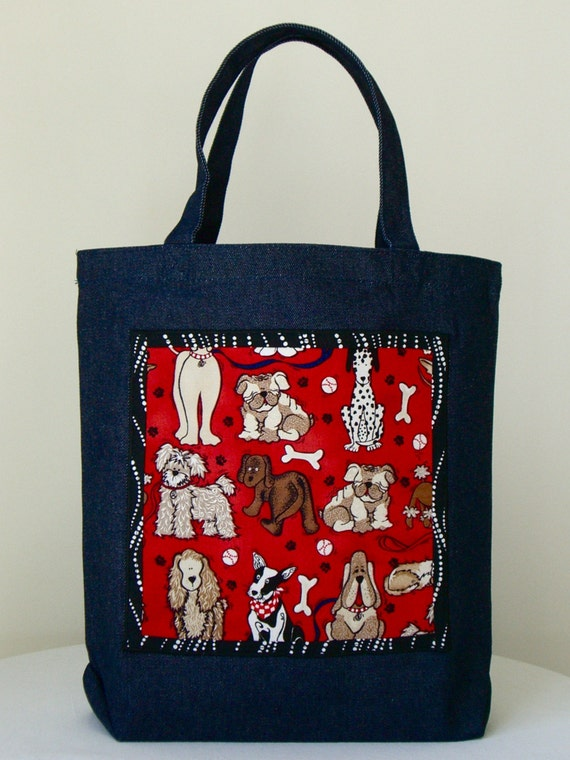 Sale - How much is that doggie...Denim Tote Bag