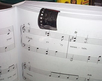 3 Piano Music Page Stays Repurposed Harmonica Plates