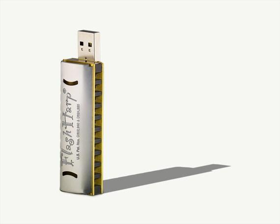 8GB C Harmonica USB flash drive FlashHarp