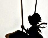 Girl Swinging Little Bug  Amylynn