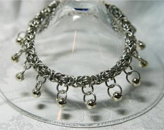 Bracelet, Beaded Byzantine Anklet