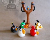 Angry Birds Edible Toppers - Birds Set