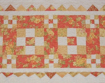 9 Patch Fun Table Runner