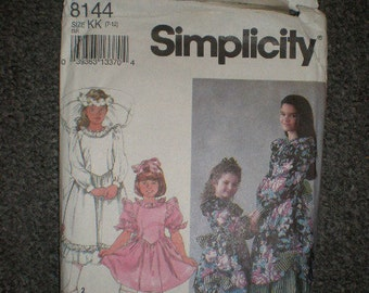 Simplicity  Girl Dress in Two Lengths