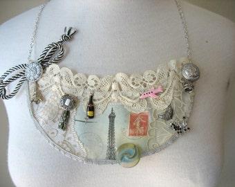 PARIS No. 2 Bib Necklace by MaggieGlynn