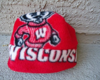 Wisconsin Badgers Hat Sizes Newborn Baby Child and Adult