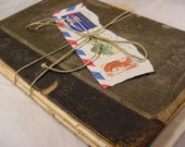 Antique Book Covers Sandwich of delicious Vintage Paper Ephemera for collage art or display