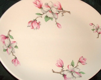 Dogwood (RHYTHM) by Homer Laughlin  China Platter, turkey Platter, Homer Laughlin Platter, Dogwood Platter, Homer Laughlin China Platter