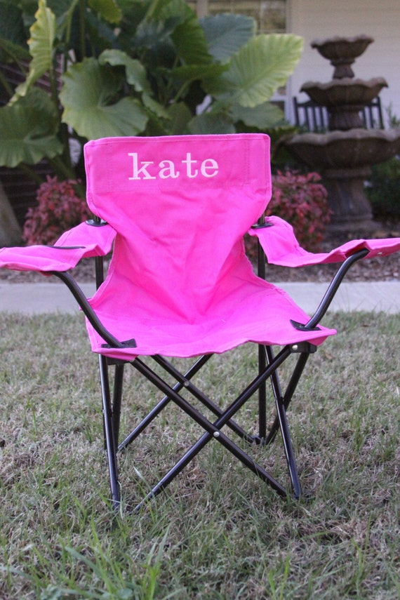 Personalized Free Kid S Camp Chair By Amyslittlebowtique
