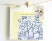 Love scrapbook card