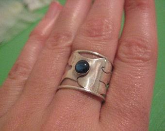 Sterling Silver Skeleton Ring