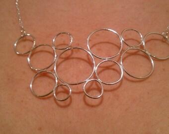 Circle Bubble Necklace