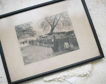 Paris etching, no 33