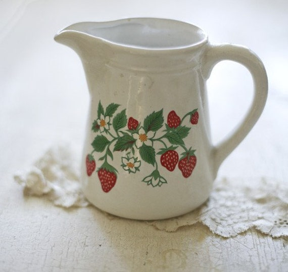 strawberry pitcher