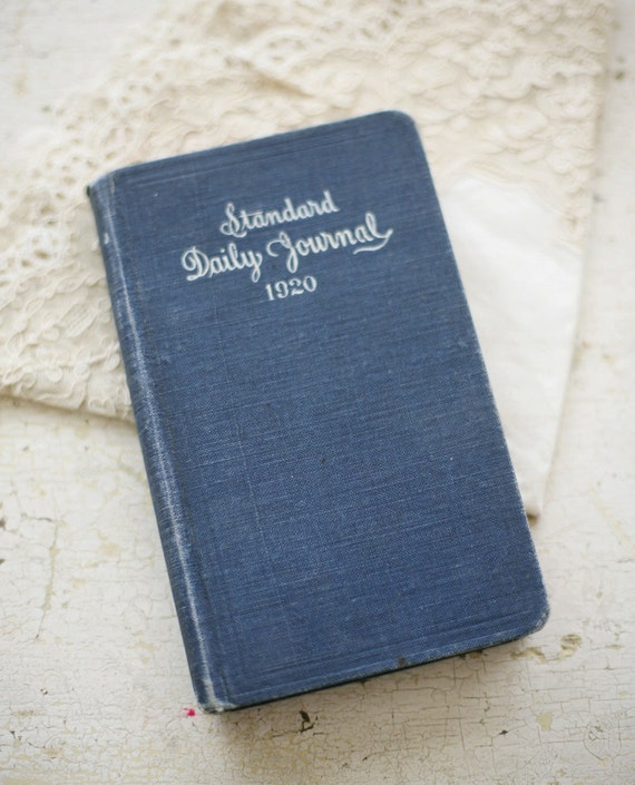 1920's daily journal