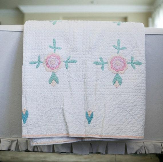 old rose quilt