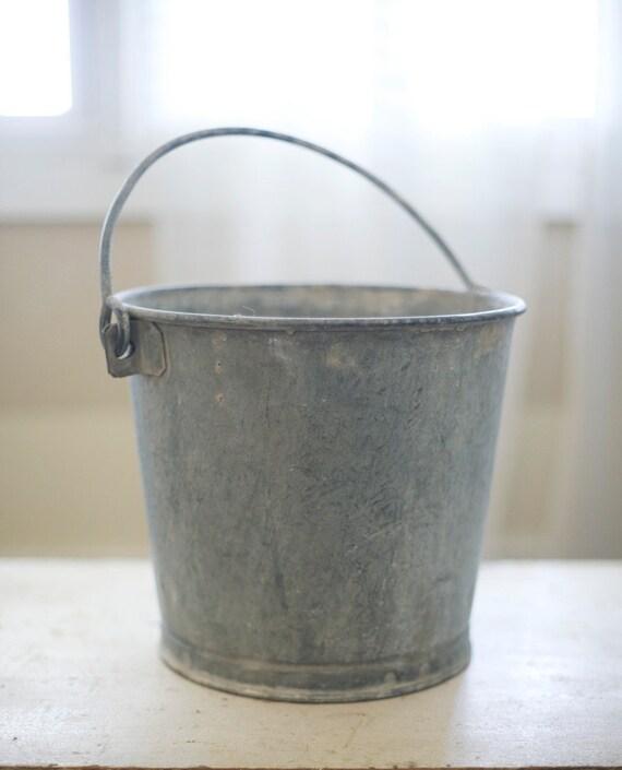 zinc metal pail