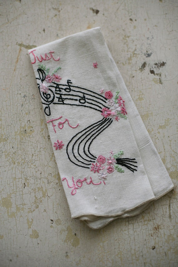 just for you hand towel