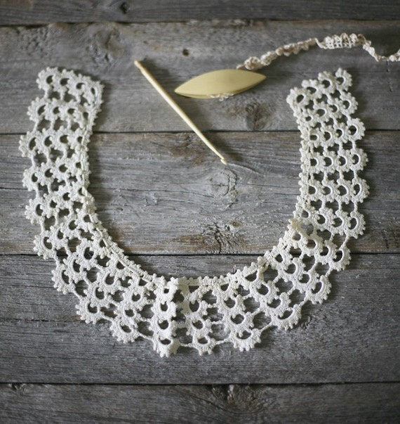 antique handmade yoke