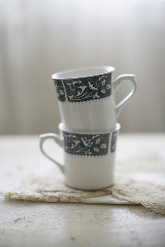 two meakin mugs