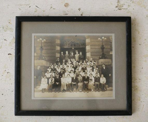 framed antique photograph (reserved)