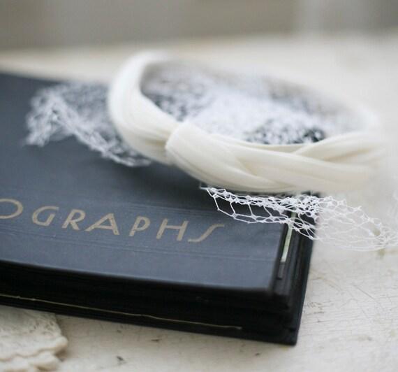 Vintage bridal hair piece
