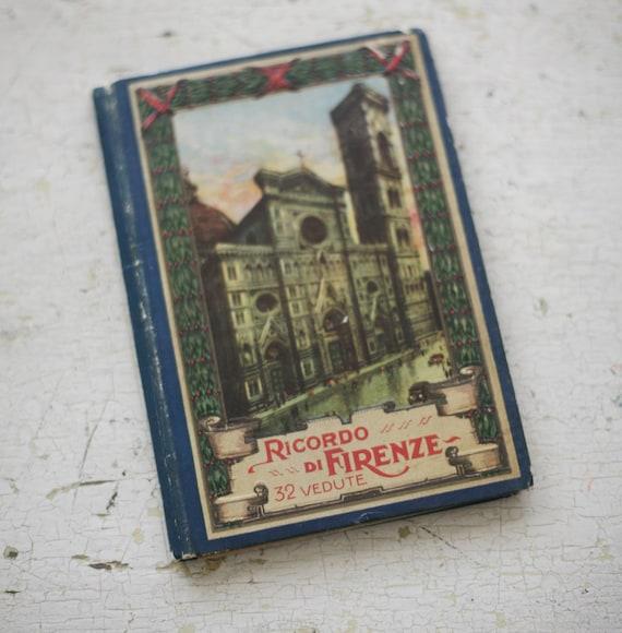 souvenir book of italy
