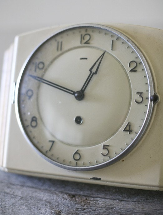 Enamel Wall Clock