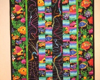 Tropical Wall Hanging Quilt