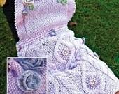 Fleur Apron PDF Knitting Pattern Instant Download