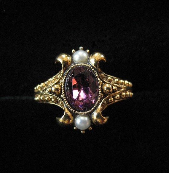 Victorian Revival Ring by AVON