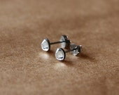Diamond White Stud Earrings