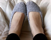Basic Crochet Slipper Socks - Choose Your Color