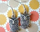 Leon and Lulu Owl Earrings