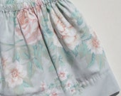 Eco Toddler Skirt Shabby Chic Print 3T