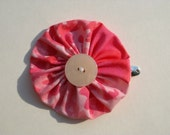 Vintage Pink Eco Friendly Yo-yo Snap Clip for Toddlers through Adults