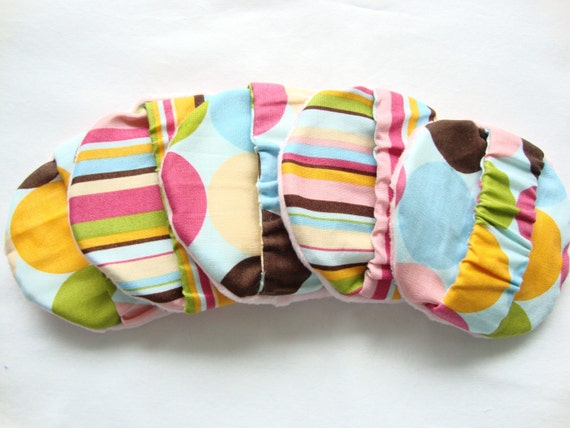 SOFT LITTLE WASHIES - Girly Stripes and Polka Dots