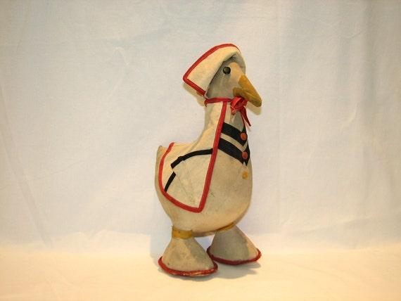 Cute Vintage Nurse Goose Stuffed Toy