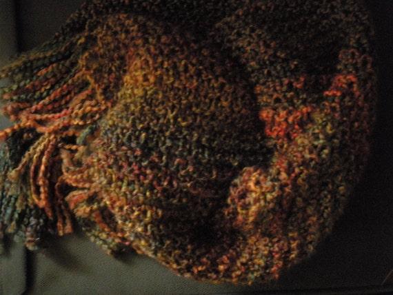 Harvest Triangular Shawl
