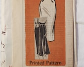 Vintage women's 1950s Mail Order Anne Adams 4903 Skirt Sewing Pattern Sz W26